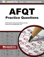 Afqt Practice Questions: Afqt Practice Tests And Exam Review For The Armed Forces Qualification Test