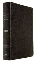 The Jeremiah Study Bible, Nkjv:  Black Leatherluxe(r) W/thumb Index: What It Says. What It Means. What It Means For You.