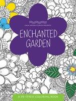 Enchanted Garden: A De-stress Coloring Book