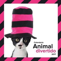 Calendario animal divertido 2017