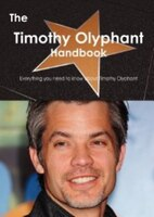 Timothy David Olyphant (born May 20, 1968) is an American actor whose notable roles in television drama series include Deadwood as Seth Bullock, Justified as Raylan Givens, The Office as Danny Cordray, and Damages as Wes Krulik.He has also starred in the films Scream 2, Gone in 60 Seconds, Dreamcatcher, Live Free or Die Hard, A Perfect Getaway, The Crazies, Hitman and I Am Number Four.  This book is your ultimate resource for Timothy Olyphant