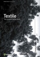 Textile Volume 8 Issue 3: The Journal of Cloth & Culture