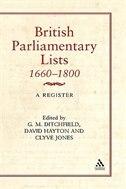 British Parliamentary Lists, 1660-1880: A Register