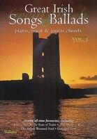 Great Irish Songs & Ballads - Volume 1: Piano, Vocal & Guitar Chords