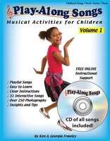 Play-along Songs Volume 1 With Cd: Musical Activities For Children