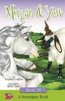 Yew, a plain little sheep, is jealous of his friend Morgan, a majestic unicorn with a magical horn