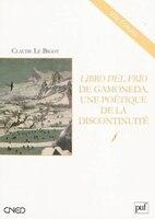 Libro Del Frio De Gamoneda, Une Poétique De La Discontinuité
