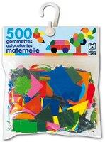 """500 Gommettes """"maternelle"""" Ass./ 12 F.-10 C."""