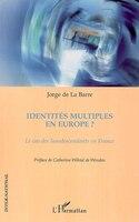 Identités multiples en europe