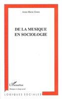 De la musique en sociologie