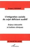 L'intégration sociale du sujetdéficient