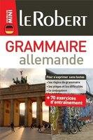 Le Robert mini grammaire allemande