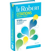 Dictionnaire des citations françaises tome 2