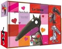 9782733847176 - Orianne Lallemand: Le loup qui cherchait une amoureuse Coffret figurines - Livre