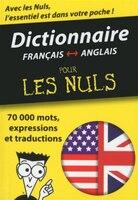 Mini dictionnaire anglais français pour les nuls