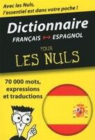 Mini dictionnaire espagnol français pour nuls