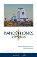 Francophonies d'Amérique 30