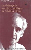 Philosophie morale et politique de Charles Taylor