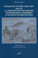 Voyages en acadie (1604-1607)