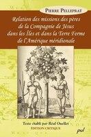 Relation des missions des pères de la Compagnie de Jésus...