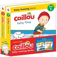 Caillou, Potty Training Series: Set Of 2 Books