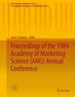 Developments in Marketing Science, Volume VII