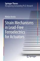 Strain Mechanisms in Lead-Free Ferroelectrics for Actuators