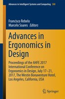 Advances In Ergonomics In Design: Proceedings Of The Ahfe 2017 International Conference On Ergonomics In Design, July 17?21, 2017,