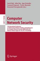 Computer Network Security: 7th International Conference On Mathematical Methods, Models, And Architecture For Computer Network