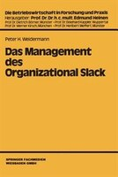 Das Management des Organizational Slack