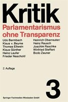 Parlamentarismus ohne Transparenz
