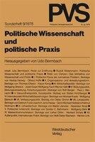Politische Wissenschaft Und Politische Praxis: Tagung Der Deutschen Vereinigung Für Politische Wissenschaft In Bonn, Herbst