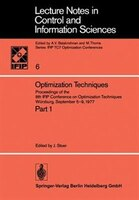 Optimization Techniques: Proceedings Of The 8th Ifip Conference On Optimization Techniques Würzburg, September 5-9, 1977