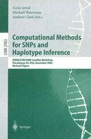 Computational Methods For Snps And Haplotype Inference: DIMACS/RECOMB Satellite Workshop, Piscataway, NJ, USA, November 21-22, 200