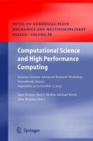Computational Science and High Performance Computing: Russian-German Advanced Research Workshop, Novosibirsk, Russia, September 30