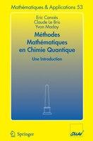 Méthodes mathématiques en chimie quantique. Une introduction: Une Introduction