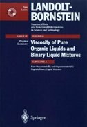 Pure Organometallic and Organononmetallic Liquids, Binary Liquid Mixtures - C. Wohlfarth, B. Wohlfarth