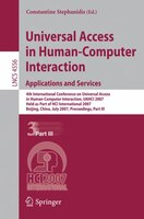 Universal Access in Human-Computer Interaction. Applications and Services: 4th International Conference on Universal Access in Hum