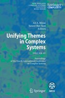 Unifying Themes in Complex Systems IV: Proceedings of the Fourth International Conference on Complex Systems