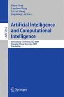 Artificial Intelligence and Computational Intelligence: International Conference, AICI 2009, Shanghai, China, November 7-8, 2009,