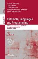 Automata, Languages and Programming: 37th International