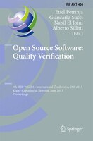 Open Source Software:  Quality Verification: 9th IFIP WG 2.13 International Conference, OSS 2013, Koper-Capodistria, Slovenia, Jun