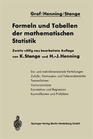 Formeln Und Tabellen Der Mathematischen Statistik