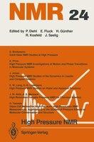 High Pressure NMR