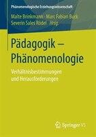 Pädagogik - Phänomenologie: Verhältnisbestimmungen Und Herausforderungen