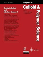Trends in Colloid and Interface Science X