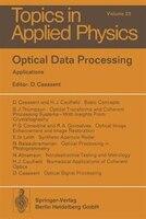 Optical Data Processing: Applications