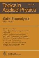 Solid Electrolytes