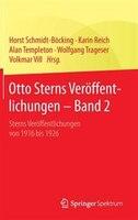 Otto Sterns Veröffentlichungen - Band 2: Sterns Veröffentlichungen von 1916 bis 1926