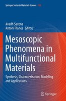 Mesoscopic Phenomena In Multifunctional Materials: synthesis, Characterization, Modeling And Applications